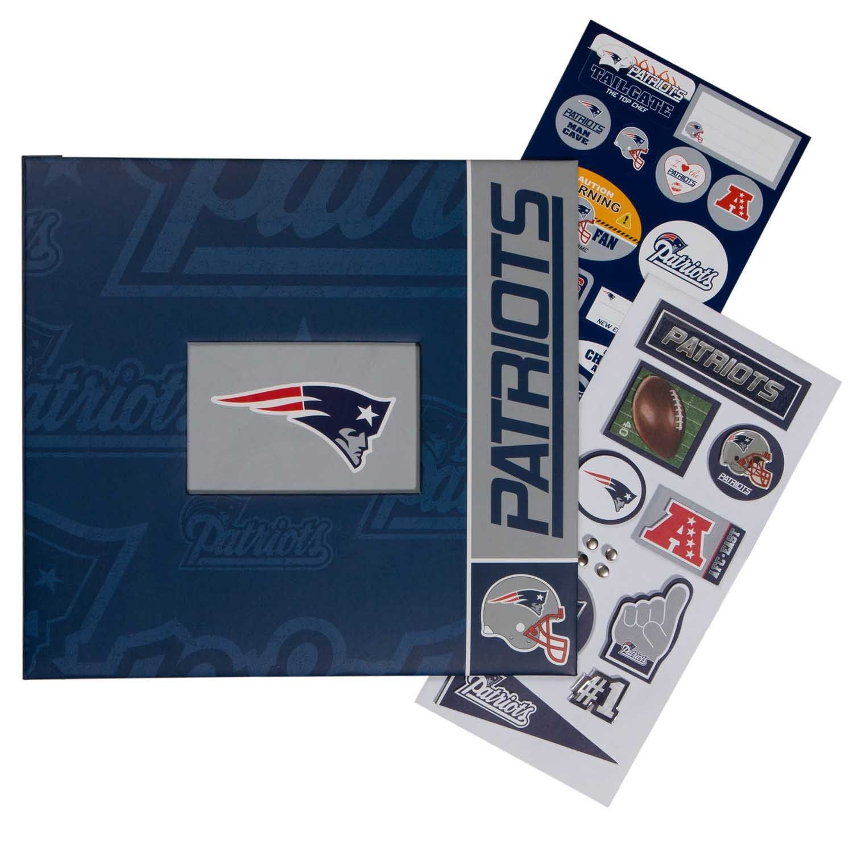 Scrapbook Complete 12x12 New England Patriots