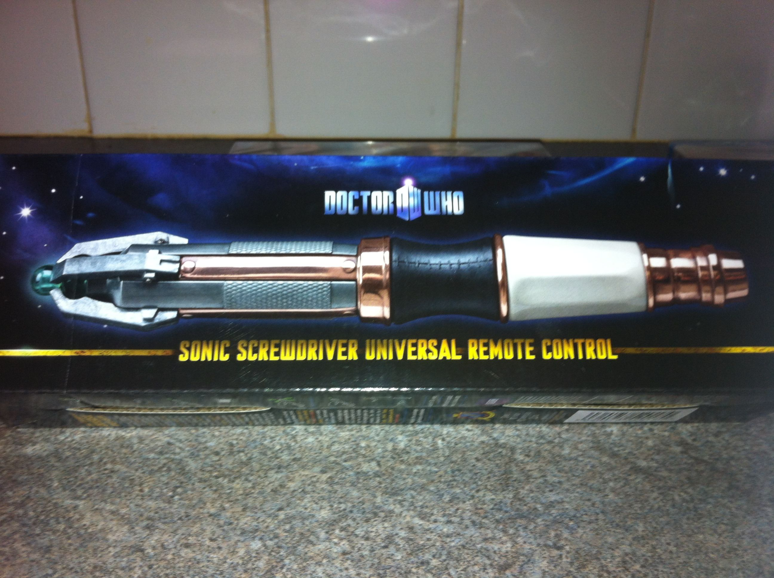 Dr Who TV remote! Awesome :-)