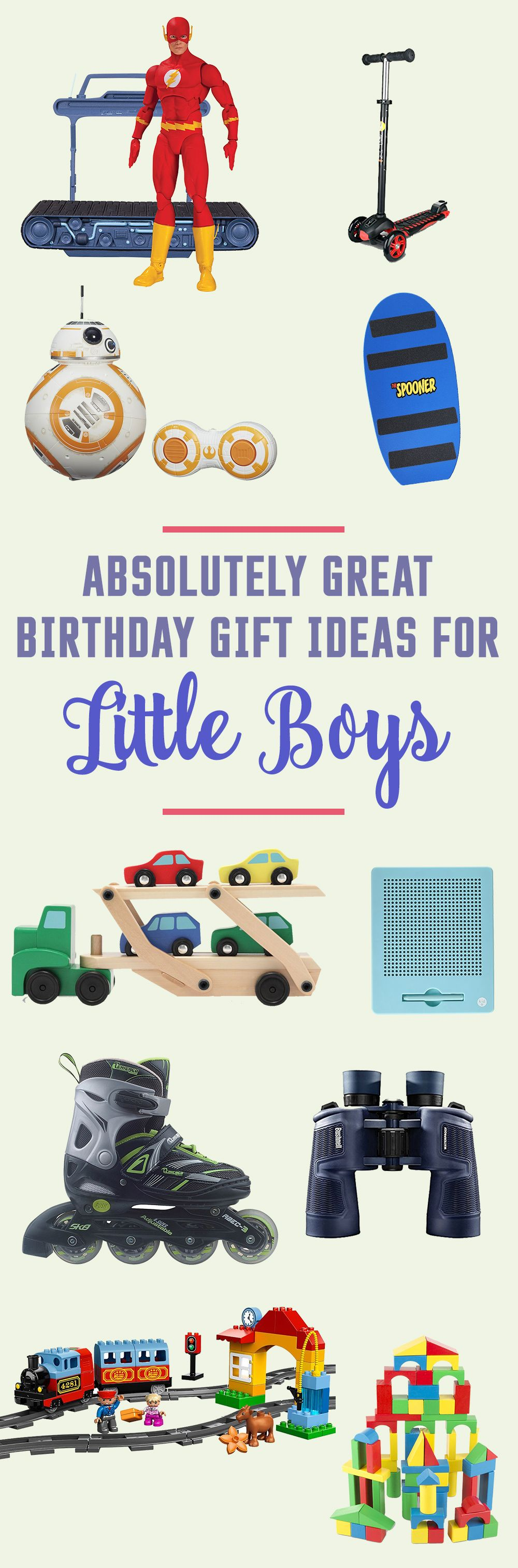 21 Absolutely Great Birthday Gift Ideas for Little Boys – Gift Ideas For All