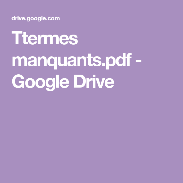 Ttermes manquants.pdf - Google Drive   Pdf, Google drive ... I Hate Math In French