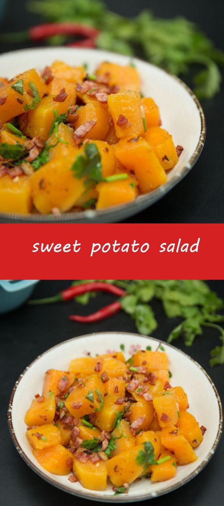 sweet potato salad - salsa recipes -