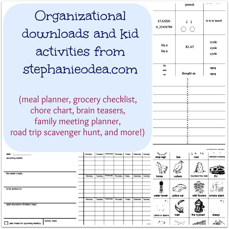 printables free printables time management worksheet home binder family planner. Black Bedroom Furniture Sets. Home Design Ideas