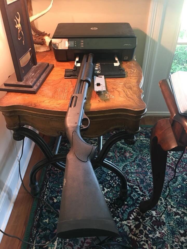 New 3D printer, printing my first #ghostgun #cnnguns ...