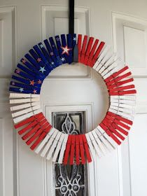 Mommy's Obsessions: DIY Forth of July Wreath