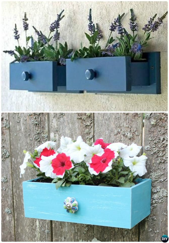 Best Recycle Old Drawers Garden Planter Diy Ideas Projects 400 x 300