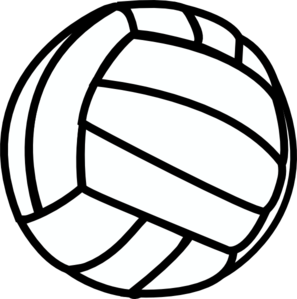 42++ Volleyball with flames clipart black and white info