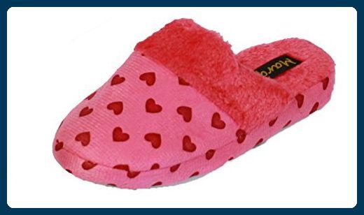 Coolers Damen Hausschuhe Fleece In Herzform Mit Fleece Futter A29 Rosa Rose Grosse 40 Hausschuhe Fur Frauen Par Damen Hausschuhe Hausschuhe Schuhe