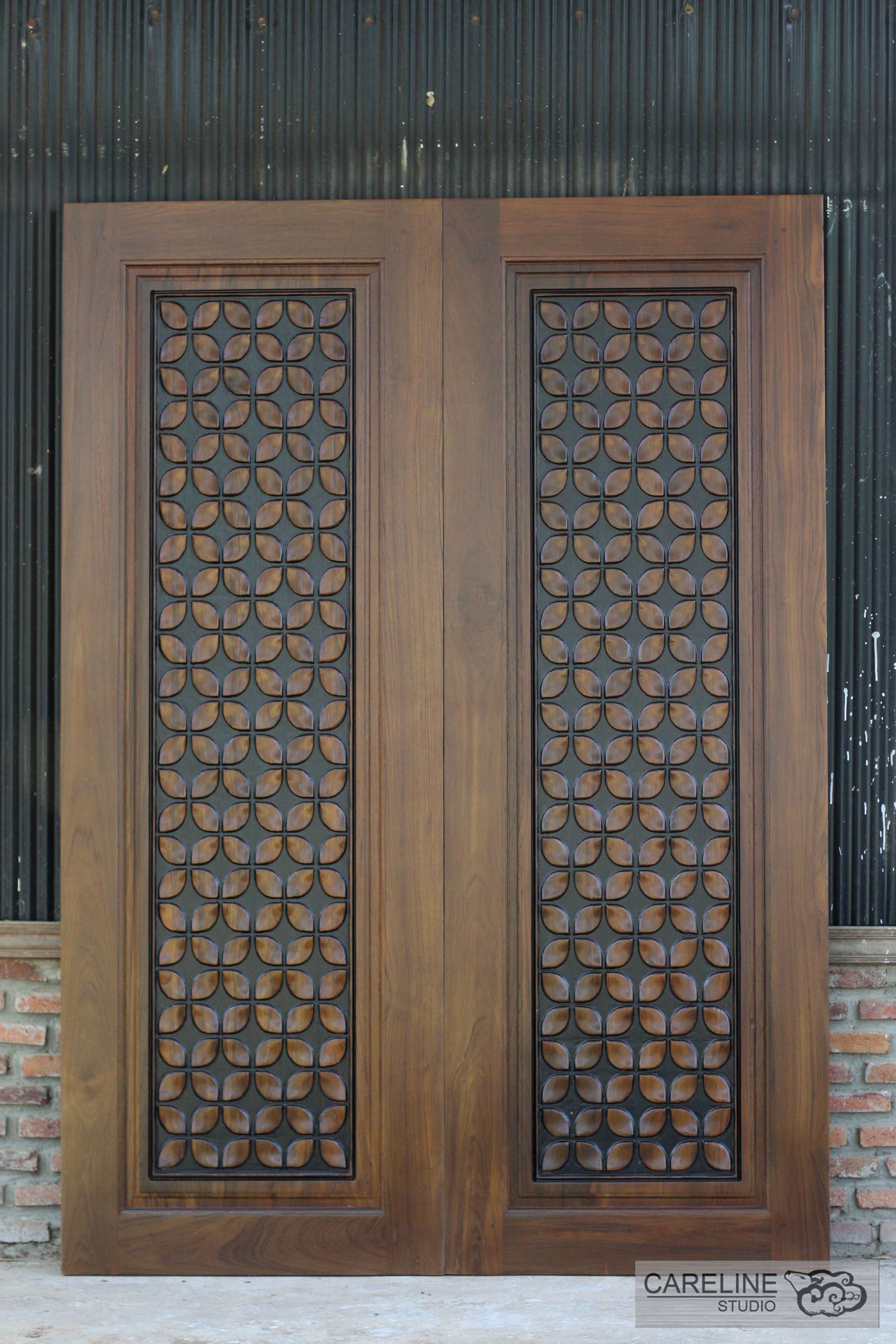 Rustic Door Interior Double French Doors Frosted Panel