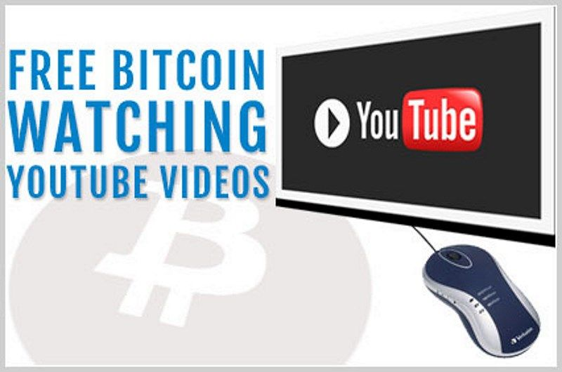get free bitcoins watching videos