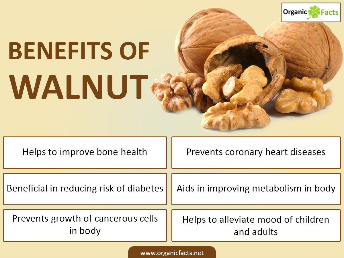 The benefits of walnuts 99