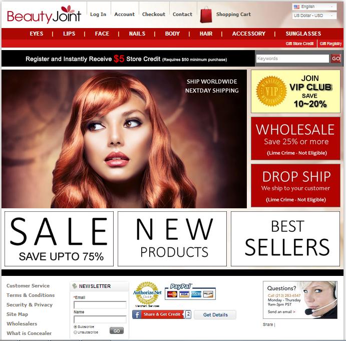 Nice and Cheap Makeup Websites