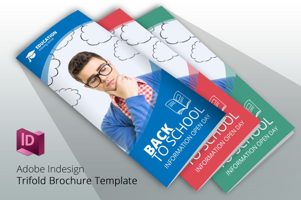 Back to School Brochure Template School Brochure Template PSD