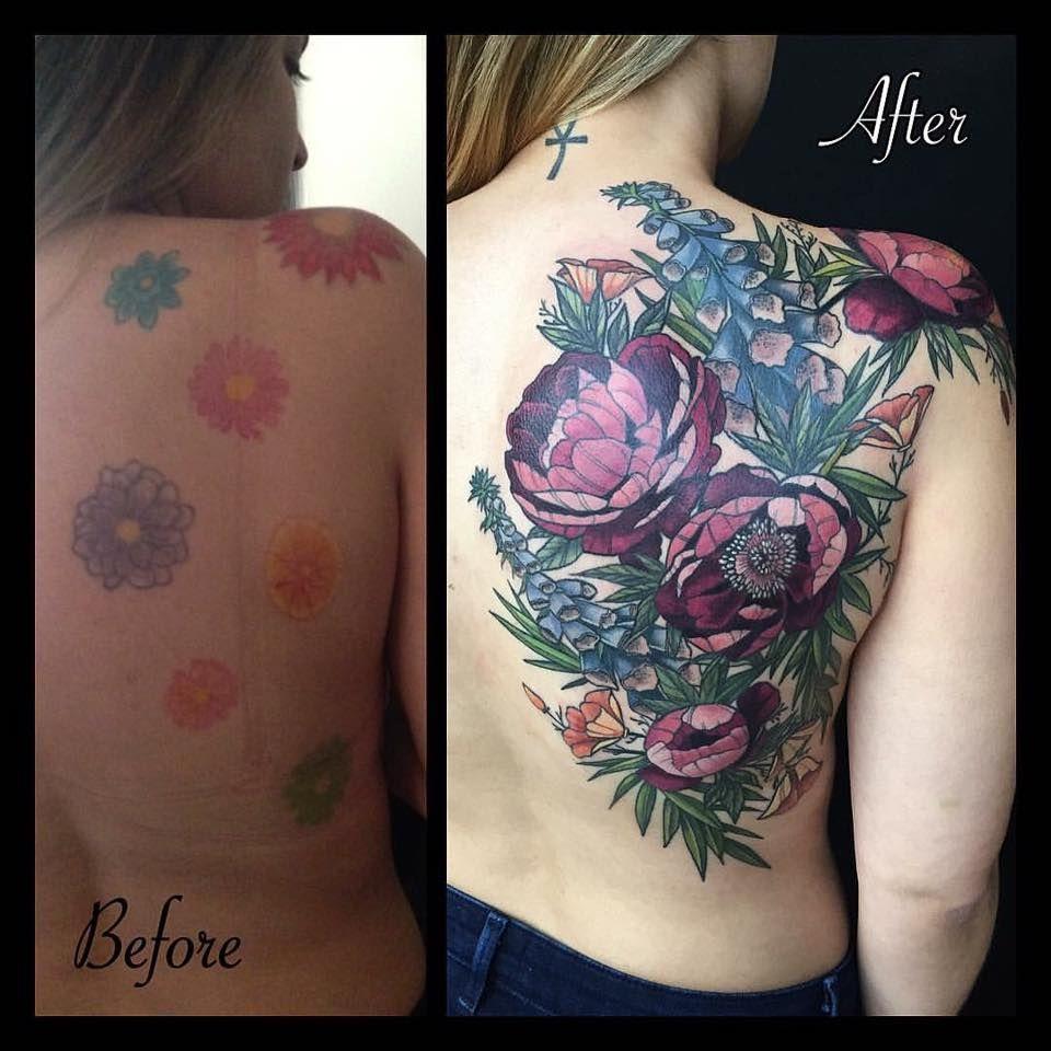 Awaken Tattoo Chicago Botanical Tattoo Tattoos Floral Tattoo