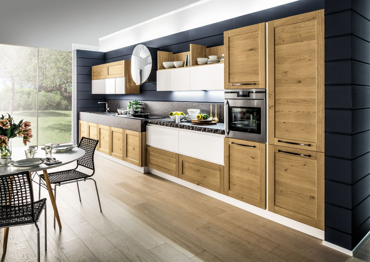 Pin By Arrex Le Cucine On Mille Idee Per La Tua Cucina Lineare Kitchen Dining Kitchen Kitchen Cabinets