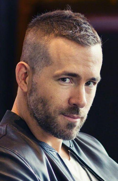 Ryan Reynolds Haircut Haarschnitt Manner Haarschnitt Kurz