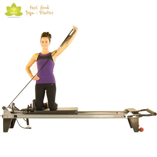 Draw A Sword Pilates Reformer Exercise 2