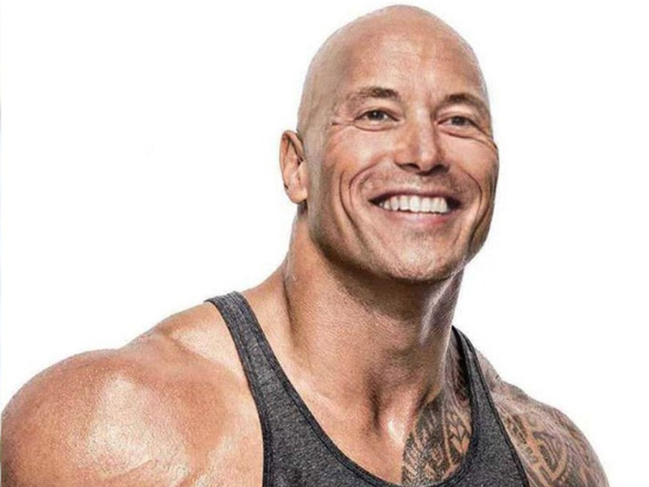 Elon Musk Photoshopped His Face Onto The Rock S Body And It S Something Else Photoshop Face The Rock