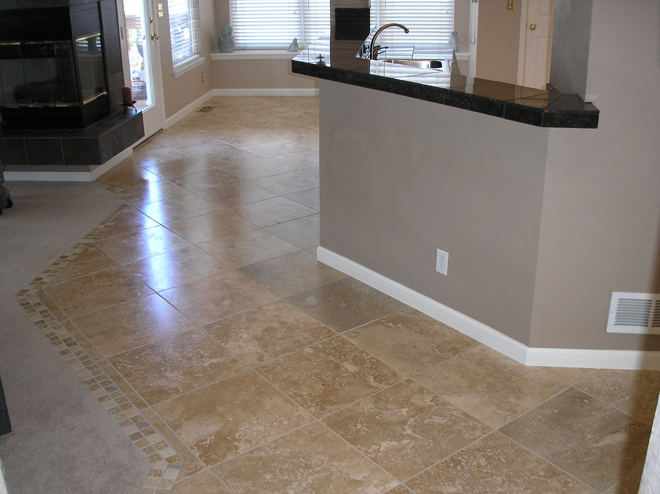Travertine Floor Kitchen Travertine Tile In Kitchen Travertine Tile Kitchen Lovely
