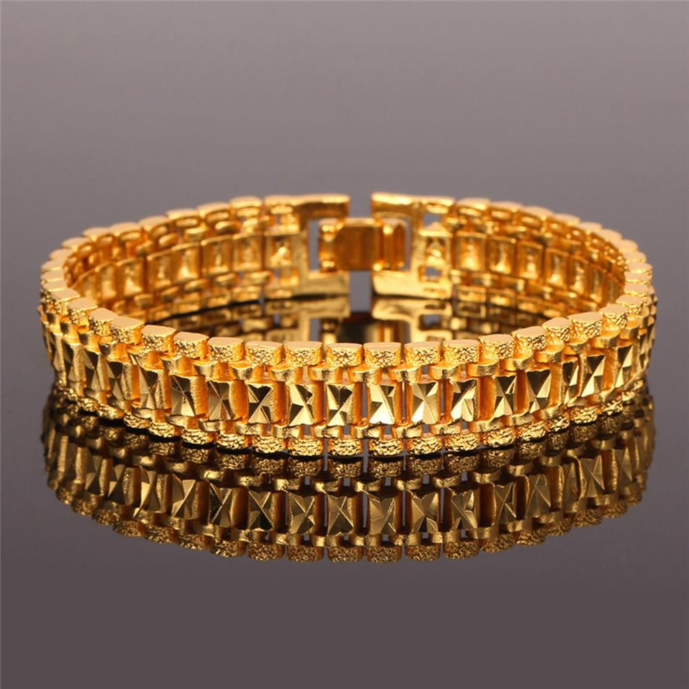Gold plated bangle bracelet for men gold plated bangles and products