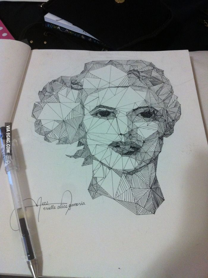 My Art Project Draw Only With Straight Lines Projects For High