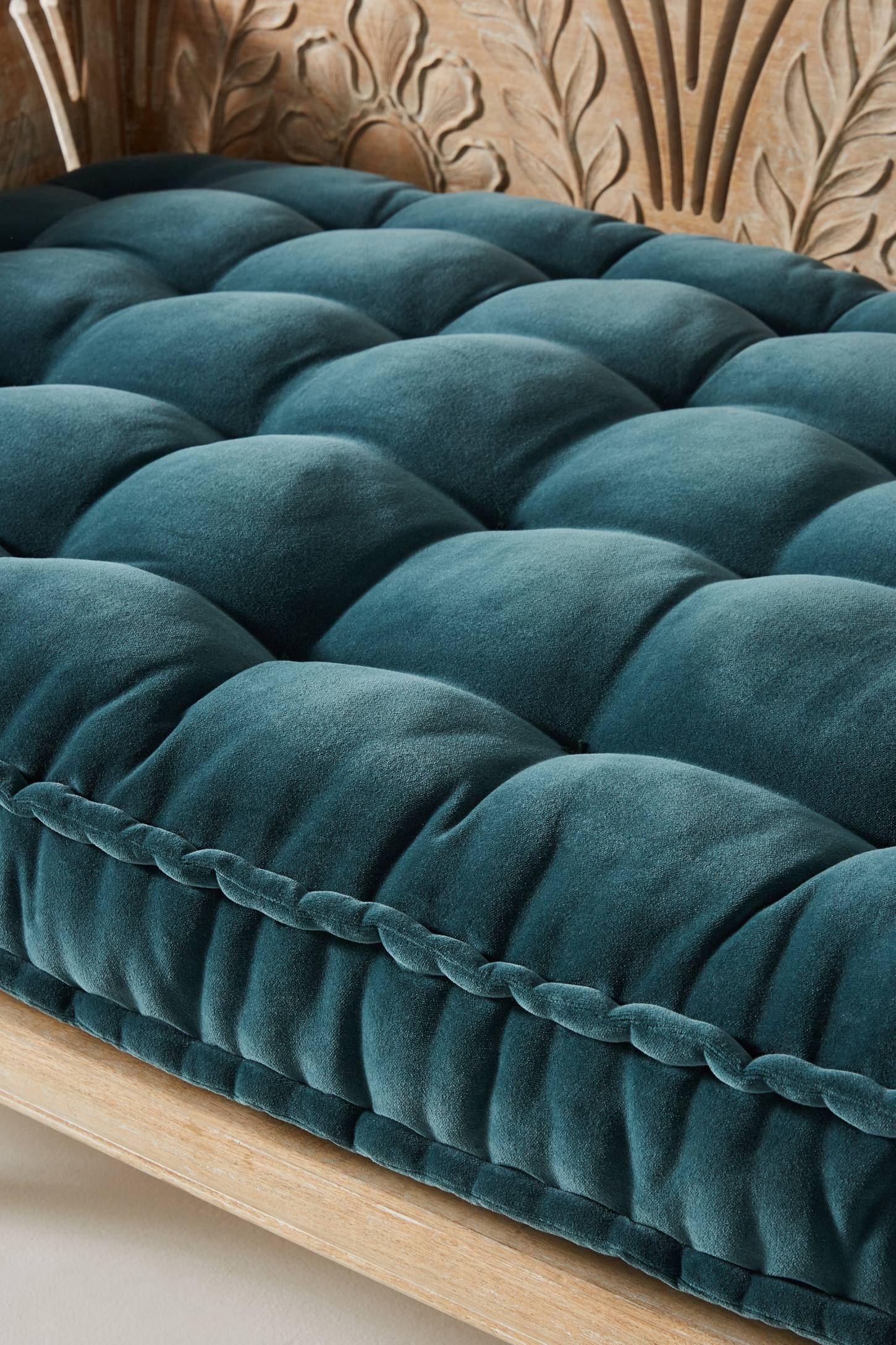 Velvet Daybed Cushion In 2020 Daybed Cushion French Mattress Cushion Mattress Cushion