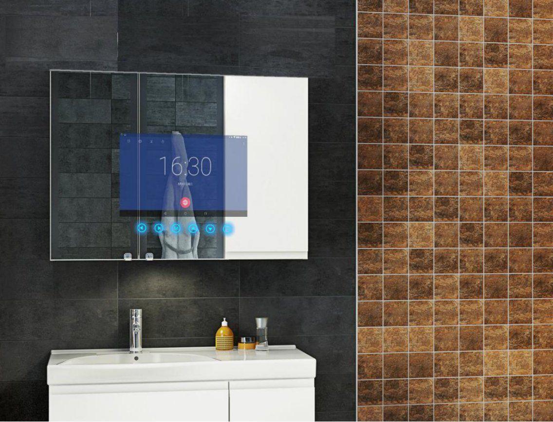 Amazon Badezimmer ~ Amazon anti fog smart bathroom mirror with inch lcd