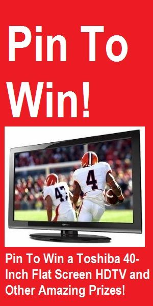 flat screen tv sweepstakes pinterest contest pin to win a 40 inch flat screen hdtv 3367