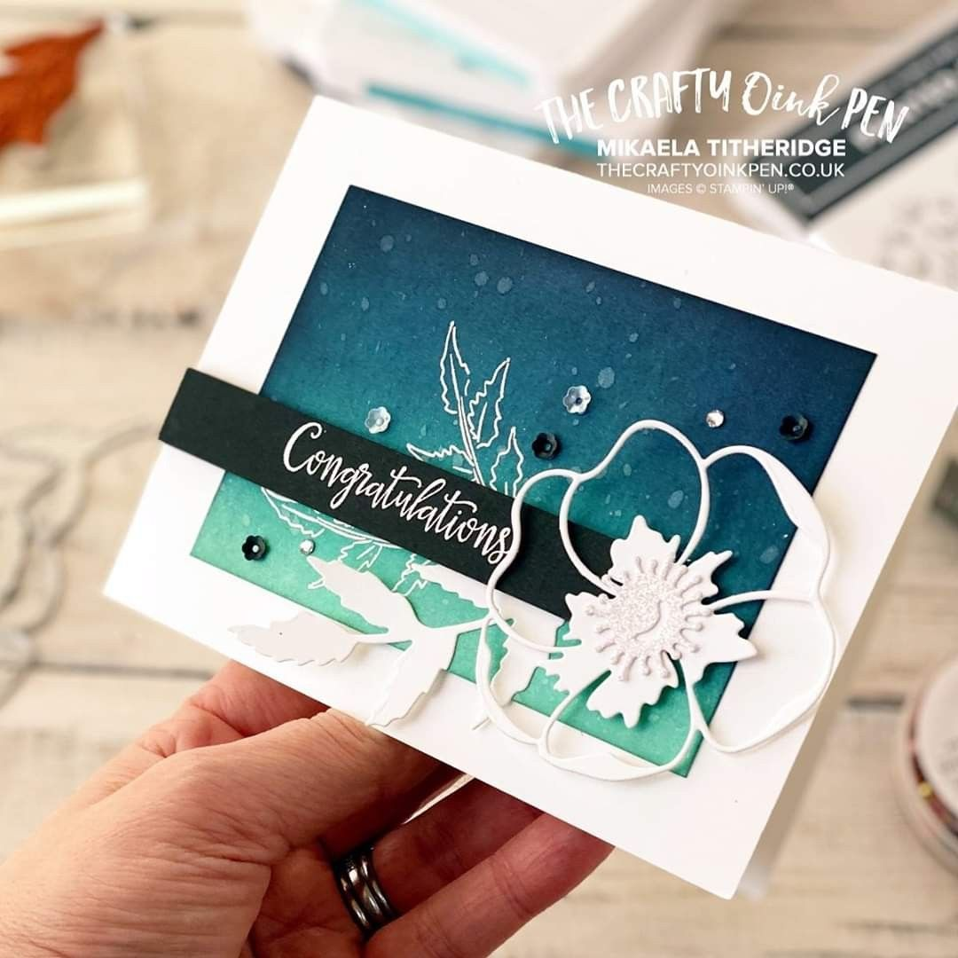 Pin by Sue Fortune on Stampin' Up! in 2020 Poppy cards