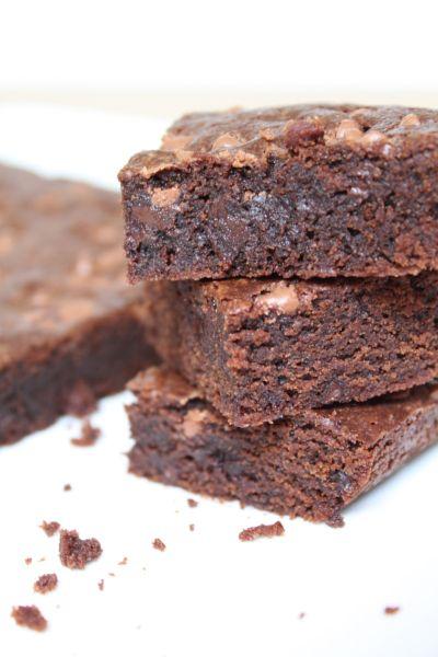 Surprises et gourmandises - Brownie au chocolat (ou presque)
