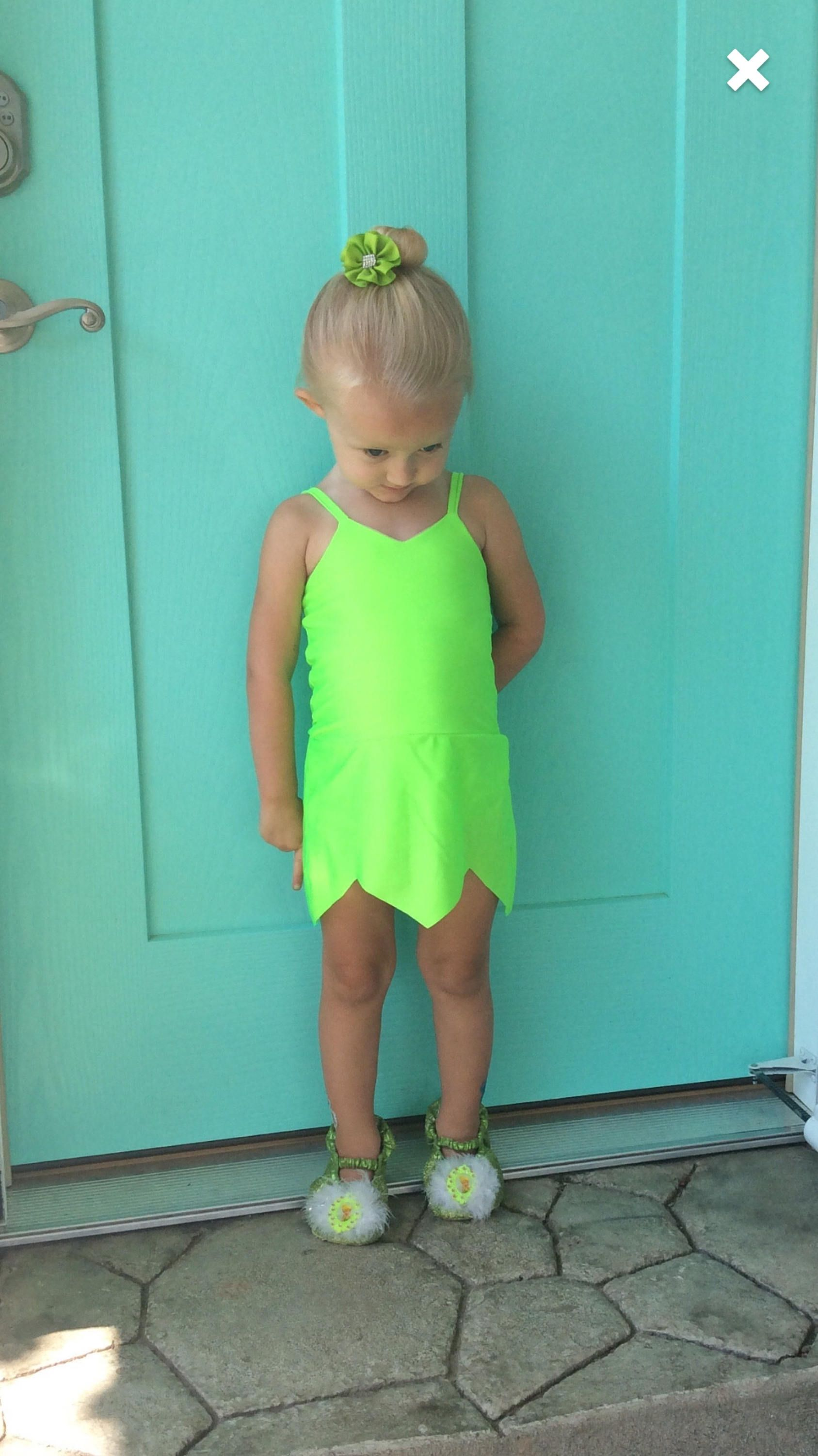 Cute Tinkerbell swimsuit. Can be used as costume too . Great for a ...