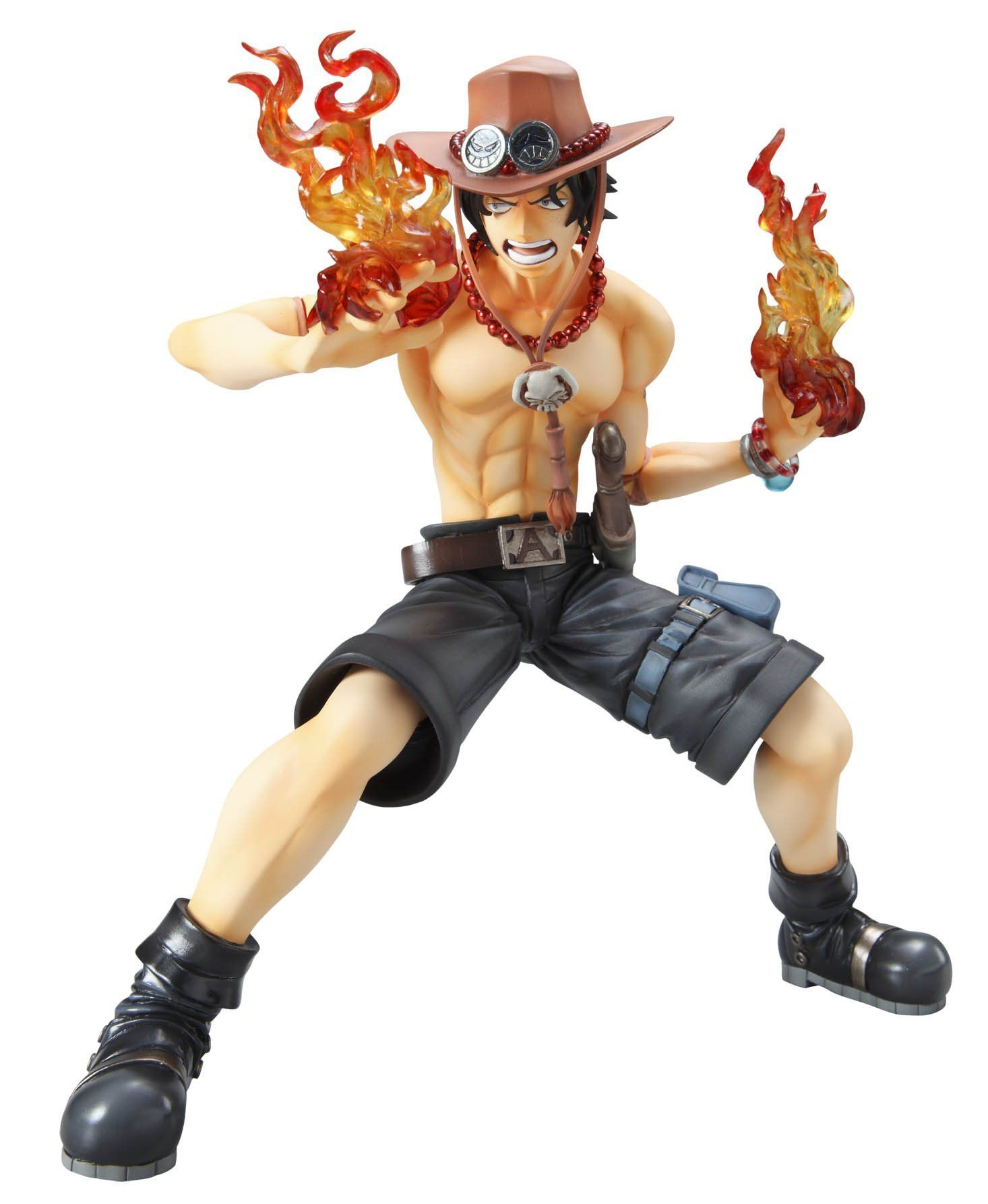 Generous 18cm Anime One Piece Monkey D Luffy & Portgas D Ace Pirate Will Of D Pvc Action Figure Resin Collection Model Toy Doll Action & Toy Figures