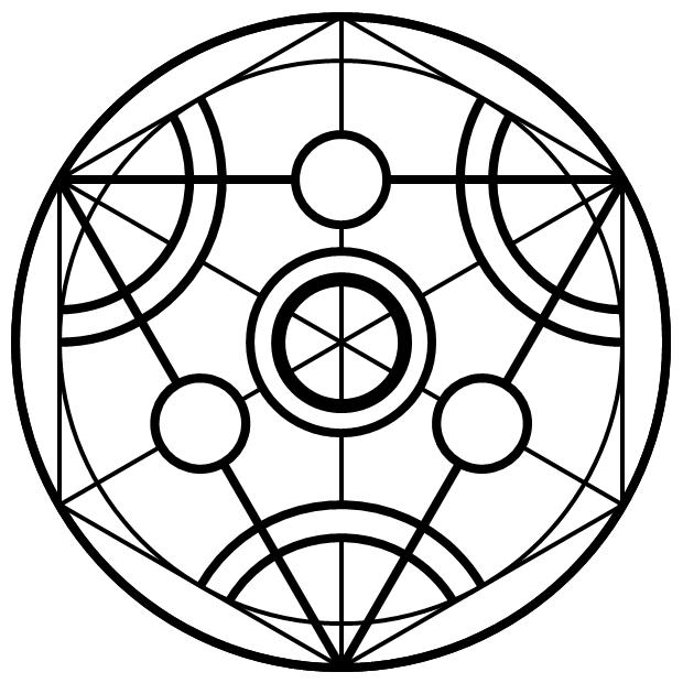 Transmutation Circle Transmutation Circle Magic Circle Magick Symbols