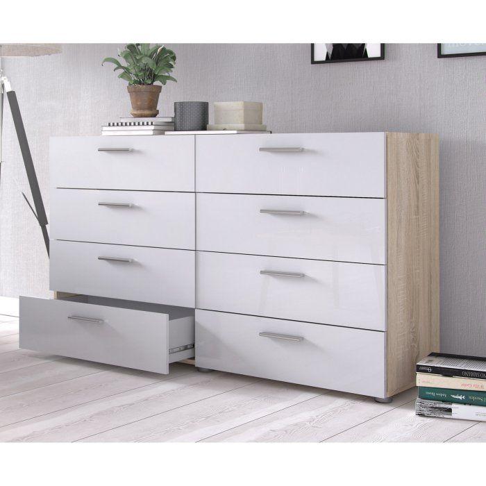 Best Tvilum Loft 8 Drawer Double Dresser Double Dresser 400 x 300
