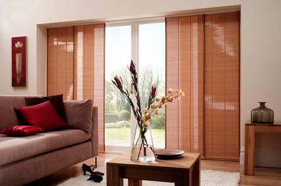 Bambo Panels Curtains For Sliding Glass Doors Window Treatments