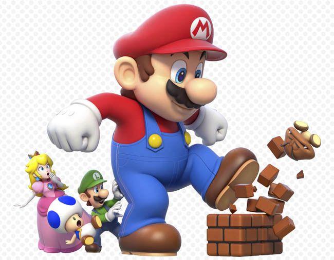 Mario Siempre Joven Mario Geburtstagsparty Mario Und Luigi Super Mario World
