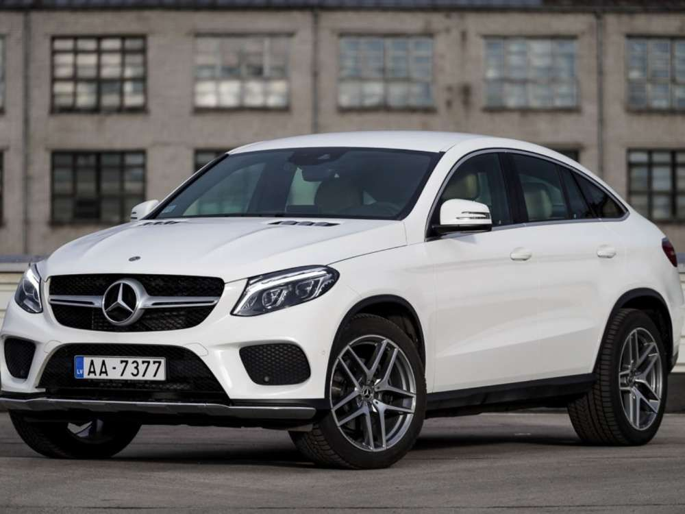 2017 Mercedes Benz Gle 350 D Coupe 4matic Suv 9g Tronic