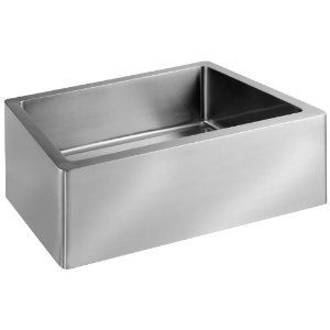 Porcher 35120 01 075 24 Inch London Farm Sink With Rack Stainless