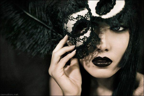 Gothic masquerade mask