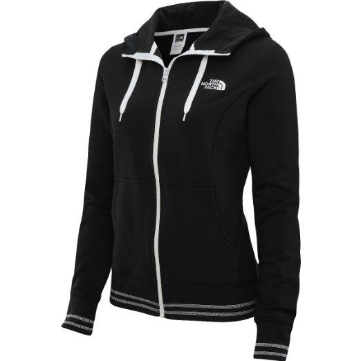 3432460f2 Love it! The North Face Womens Logo Stretch Full Zip Hoodie ...
