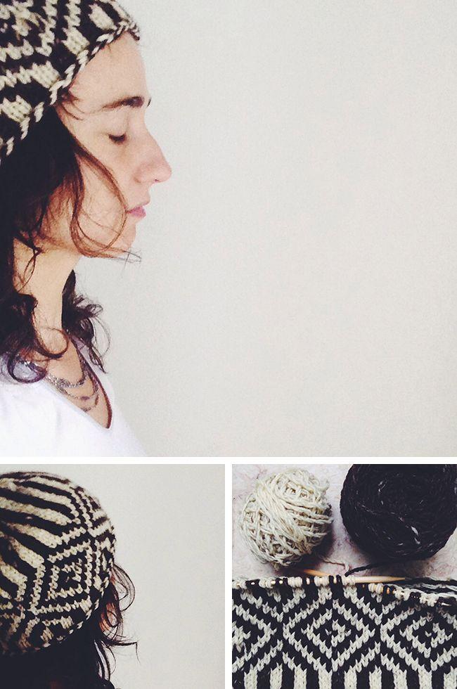 New Favorites: Rosa Pomar\'s blanket hat | Gorros, Tejido y Taller