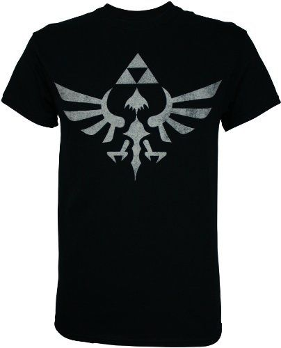 dcbe15e8e This cool Zelda t-shirt features the Triforce logo from the Legend of Zelda  video