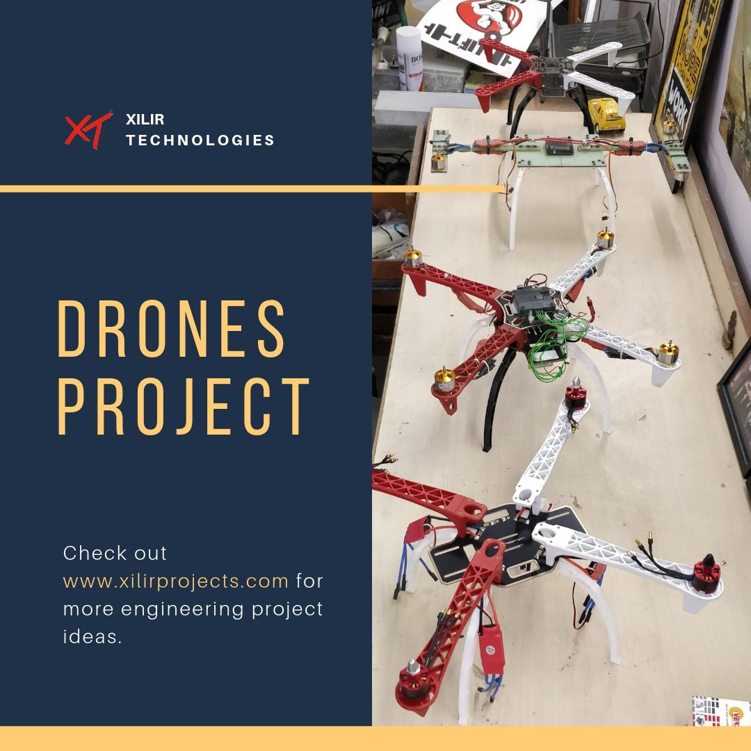 Drones projects engineering student engineering