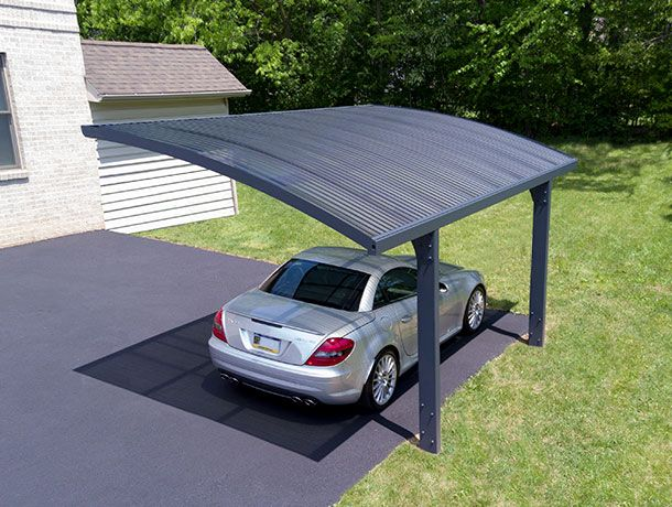 Arizona Is A Uniquely Designed Two Post Carport Offering A High Performance Outdoor Structure Carport Designs Pergola Carport Cantilever Carport