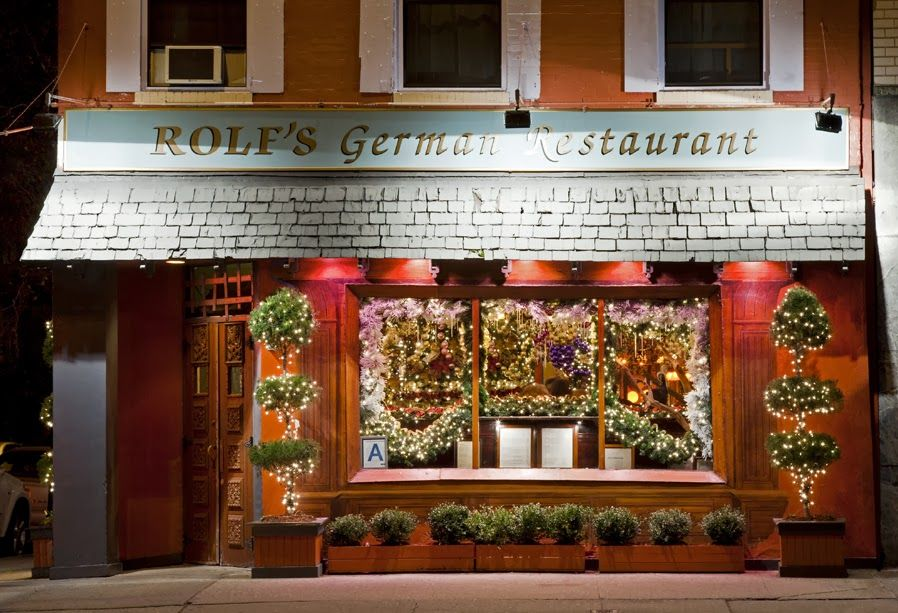 Rolf 39 S German Restaurant New York Ny Most Munch Able
