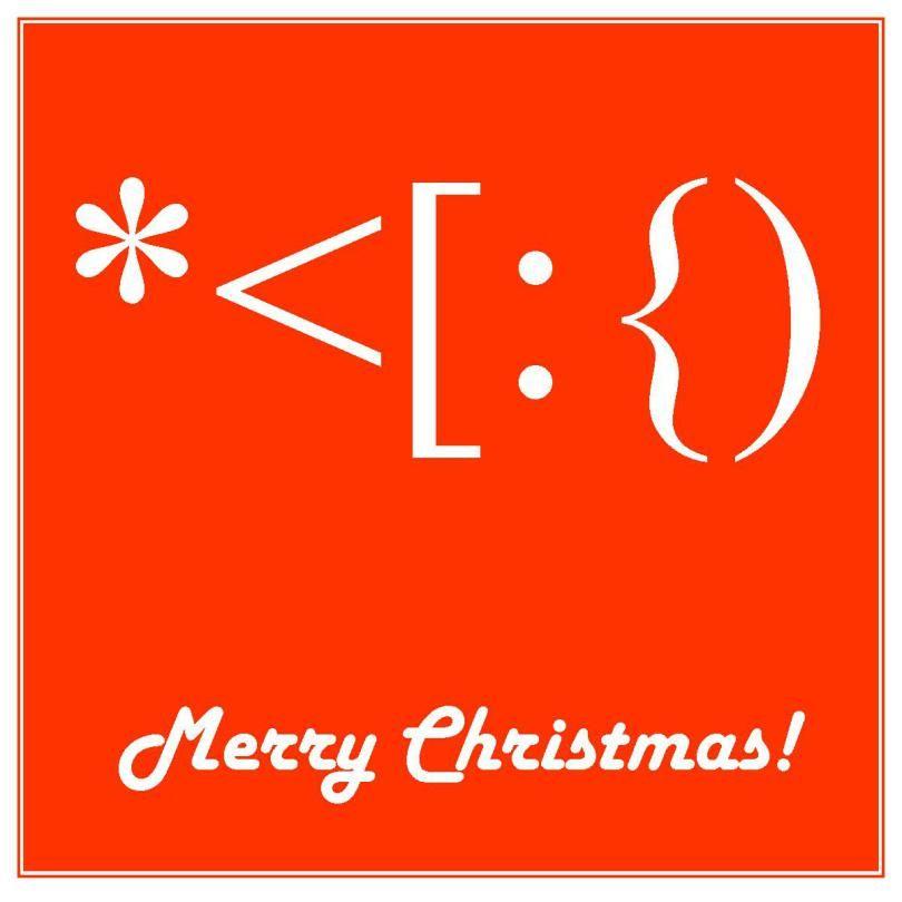 Santa Made From Keyboard Symbols Keyboard Symbols Christmas Text