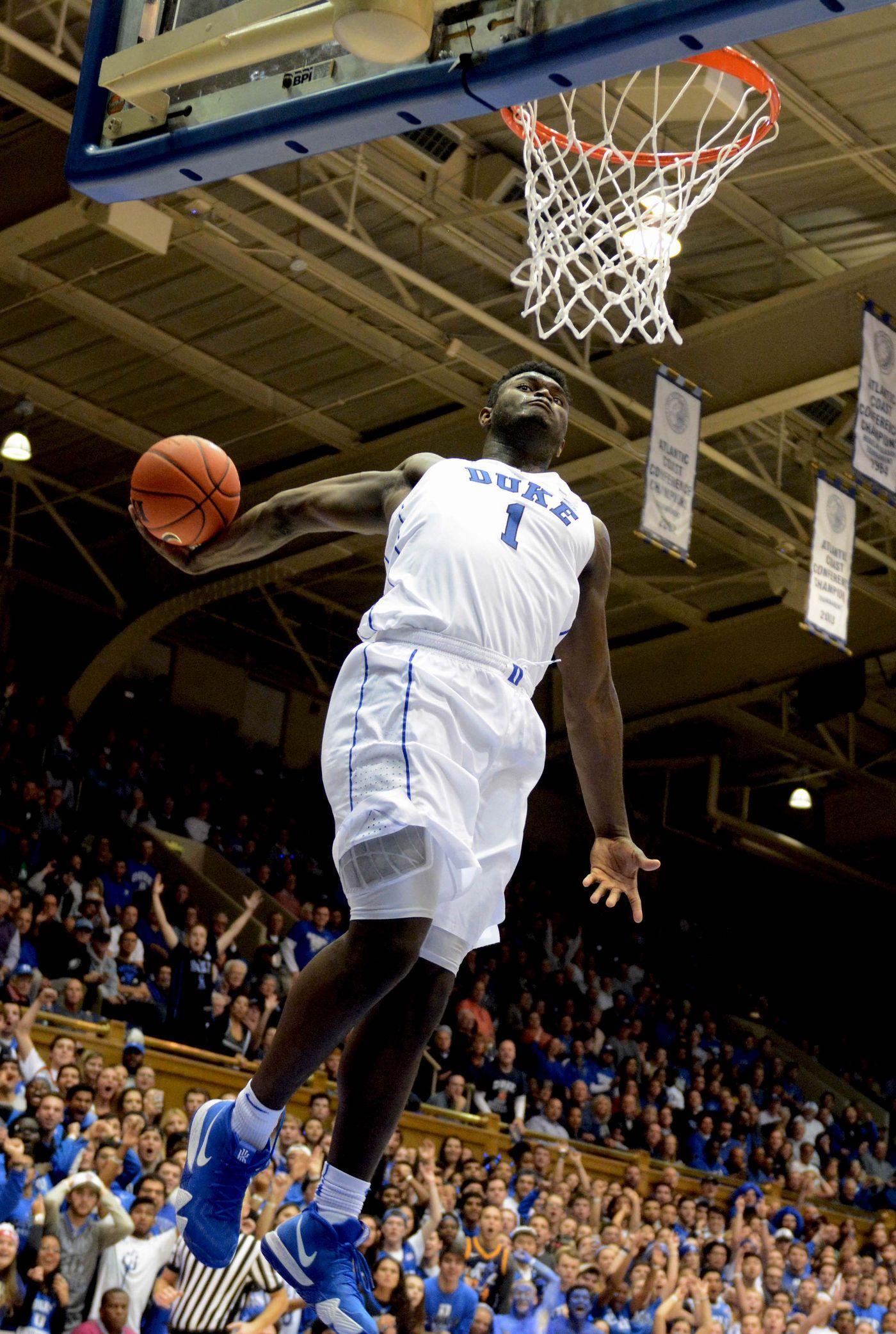 Zion Williamson's best dunks at Duke, ranked Duke