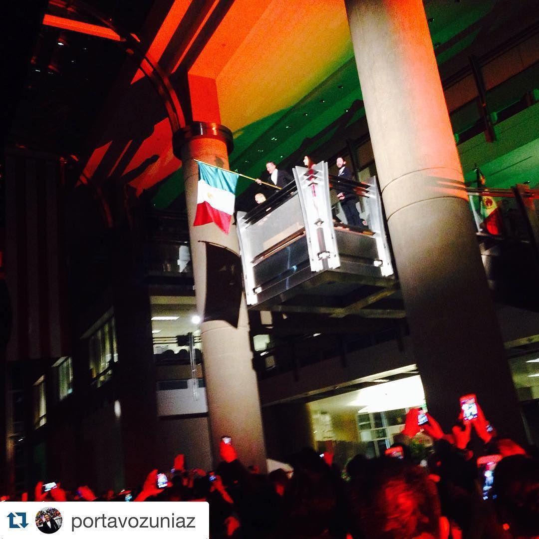 #Repost @portavozuniaz  Celebrando el 205 aniversario de la independencia de México en la Municipalidad de Phoenix. Viva México!