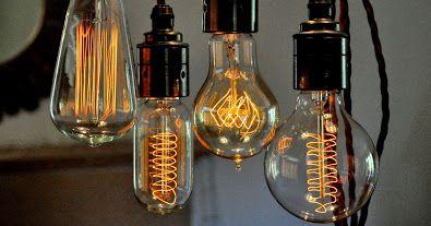 Vintage edison light bulbs house illuminazione and