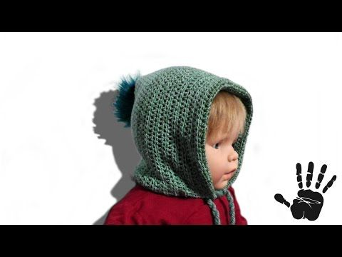 INAARA Kindermütze Häkelanleitung - © Woolpedia - YouTube | DETSKá ...
