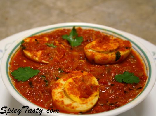 Spicy egg curry asian recipes pinterest egg curry curry and egg spicy egg curry forumfinder Gallery